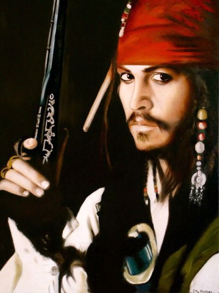 Johnny Depp by Qwiepke